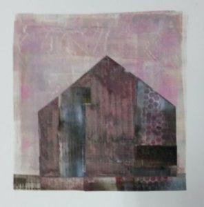 zonder titel, gemengde technieken, 34 x 36 cm, 2016, Andries de Jong