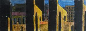 foto, fotokopie, inkt en potlood, 20 x 7 cm, door Andries de Jong